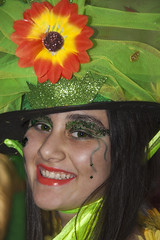 Rostros de Carnaval - de Esther Mosquera