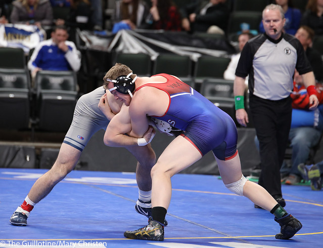 Semifinal - Bobby Striggow (Orono) 47-0 won by tech fall over Nick Nolan (Watertown Mayer-Mayer Luth.) 28-3 (TF-1.5 2:49 (15-0)). 180303AMC5414