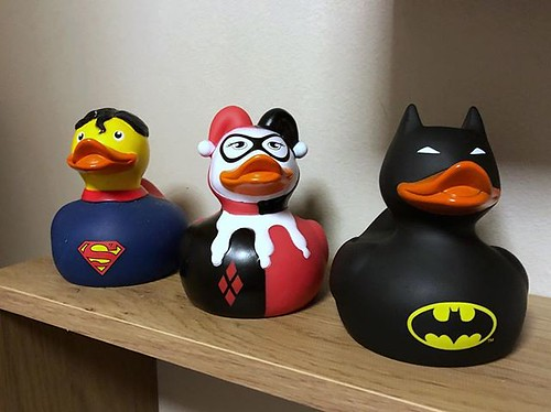 Today is all about...when my new DC ducks are better than the actual films
