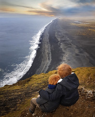 ..endless coast in Iceland..