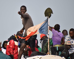 Tanji fishing village, Gambia. 12th December 2017.