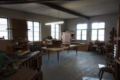De werkplaats bij Steinmeyer Orgelbau.