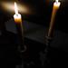 Stilla tyst och ljusen som enda ljuskälla