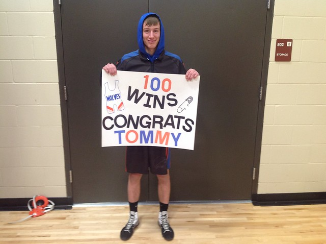 100th Win – Thomas Pesta, LPGE/Browerville, 12th, 145 pounds