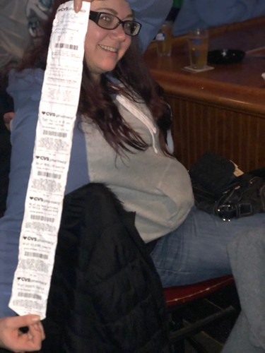 The visine receipt