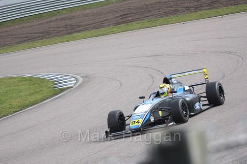 Sebastian Alvarez in British F4 pre-season testing 2018