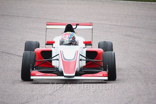 Wing Hoong in British F3 pre-season testing 2018