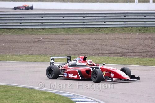 Jamie Sharp in British F4 pre-season testing 2018