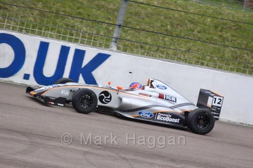 Ayrton Simmons in British F4 pre-season testing 2018