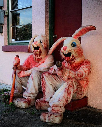 """bloody white rabbits • <a style=""""font-size:0.8em;"""" href=""""http://www.flickr.com/photos/15706268@N04/40773389692/"""" target=""""_blank"""">View on Flickr</a>"""