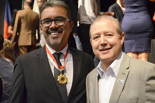 Wallace Barreto e José Maria Facundes - Foto Emmanuel Franco