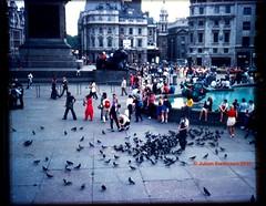 Trafalgar Square on 110 Kodachrome
