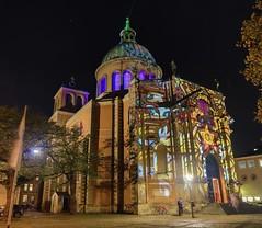 """Basilika St. Clemens """"Hannover leuchtet"""""""