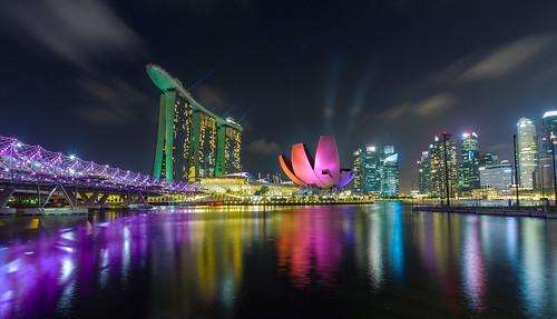 Skyline of Singapore