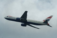 British Airways Boeing 767-300ER from Heathrow T5