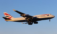 G-BNLN Boeing 747-436 British Airways