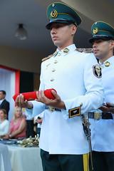 Ceremonia de egreso de la Academia Militar