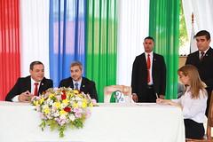firma de un convenio interinstitucional para el desarrollo del bajo chaco