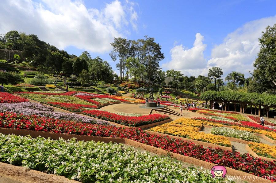 Doi Tung,泰國,泰國住宿,泰國小瑞士,泰國旅遊,清萊Doi Tung皇太后行宮花園,清萊住宿,清萊小瑞士,清萊景點 @VIVIYU小世界