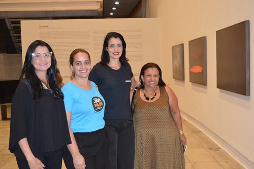 Lu Profiro, Penélope Portugal, Sirlene Almeida e Marilda Lyra