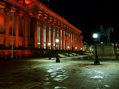 They turned St. Georges Hall red.
