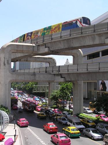 Bangkok, near MBK mall