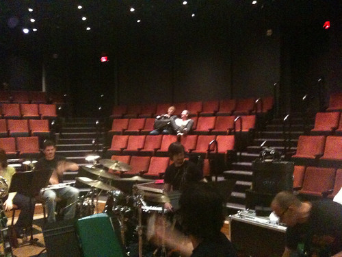 Band rehearsal:  Whisper House