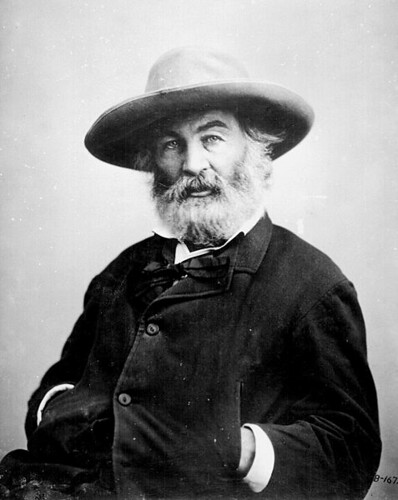 Walt Whitman photo