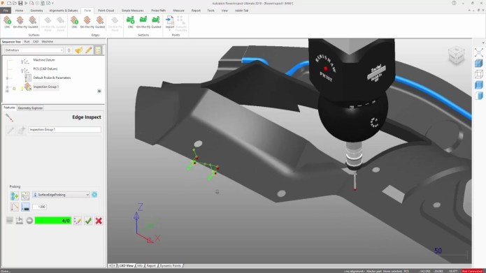Working with Autodesk PowerInspect Ultimate 2018 x64 full license