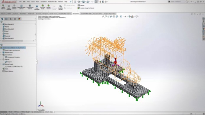 SOLIDWORKS Simulation Linear Static Assembly Analysis videos