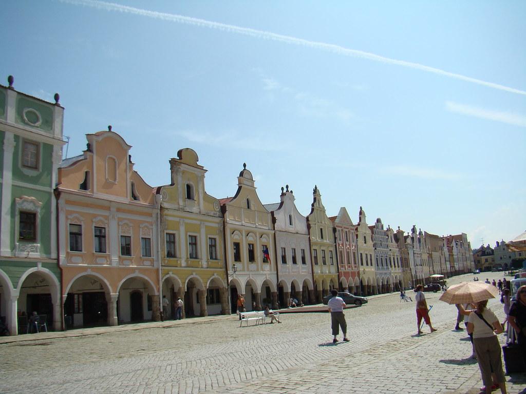 Centro Historico de Telc-Chequia 03 Patrimonio de la Humanidad Unesco