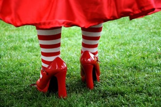 National Aids Trust (NAT) - Walk for Life - Red Shoes