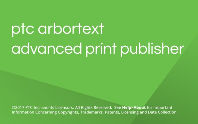 PTC Arbortext Advanced Print Publisher 11.1 M060