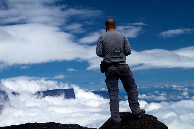 Above the Clouds in Mt. Roraima Window