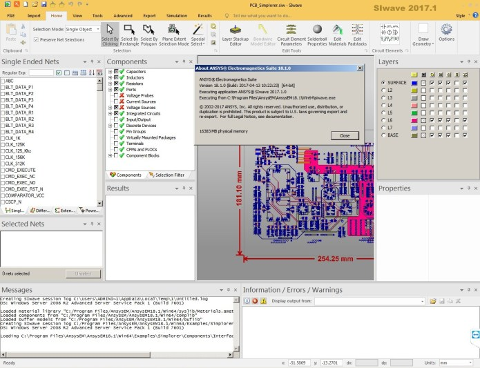 Working with ANSYS Electronics 18.1 Suite win64 full