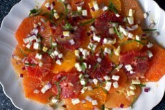 Mixed Citrus Salad with Feta and Mint