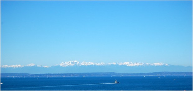 Blue Puget Sound