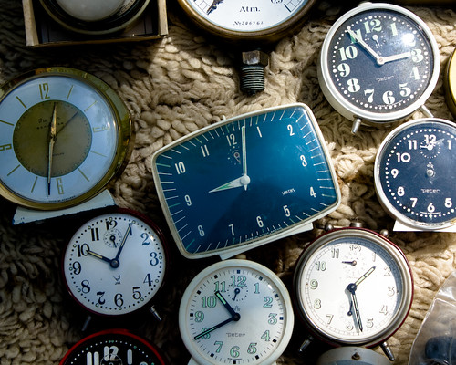 El reloj parado a las siete