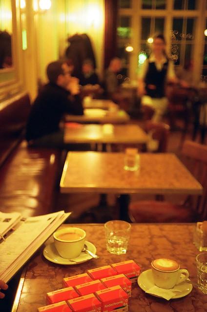 Kodachrome at Café Einstein, Berlin, 2009