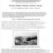 The Pioneering Story of Royal,Nebraska  [ Page 1 of 4 ]  Jessup