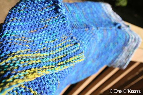 Squishy Garter Stitch Easy Baby Blanket Knitting Pattern (2/3)