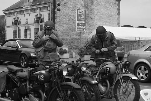 WWII reenactment