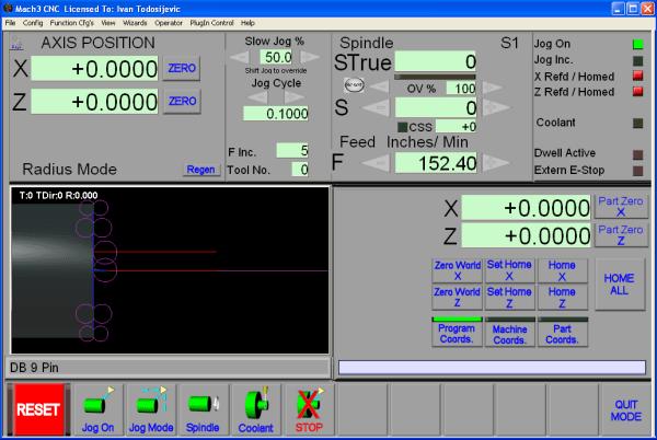 Working with Mach3 R3.043.053 32bit 64bit