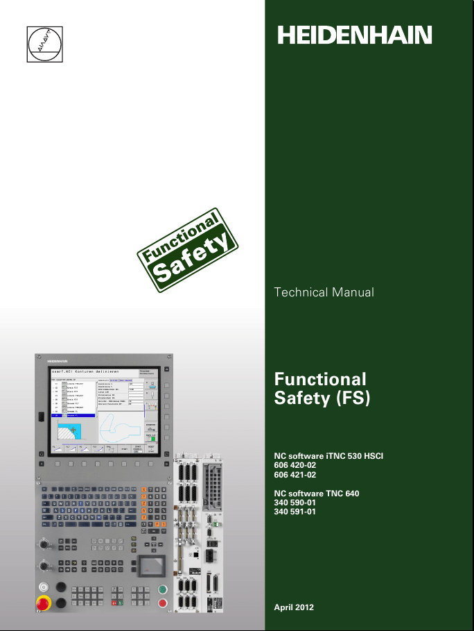 Heidenhain Technical and Service Manual books