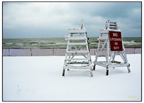 No Lifeguard On Duty, Lake Michigan