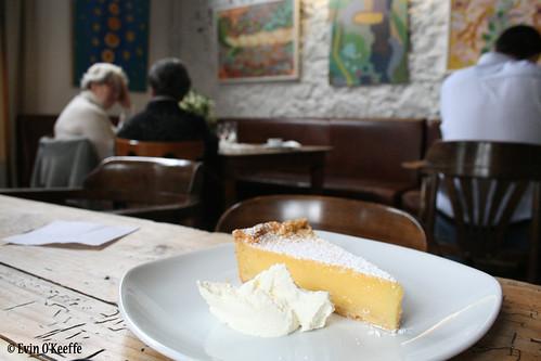 Lemon Tart at Farmgate, Midleton