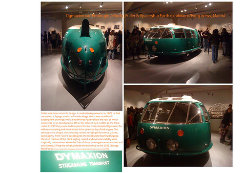 10-10_dymaxion car_fuller exhibition_ivory press_madrid by arquigraph