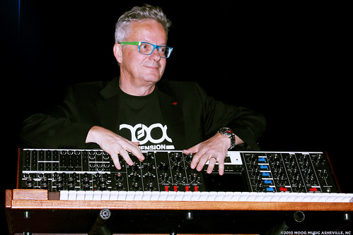Mark Mothersbaugh & the Minimoog Voyager XL