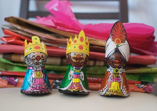 Sus majestades los Reyes Magos de Oriente