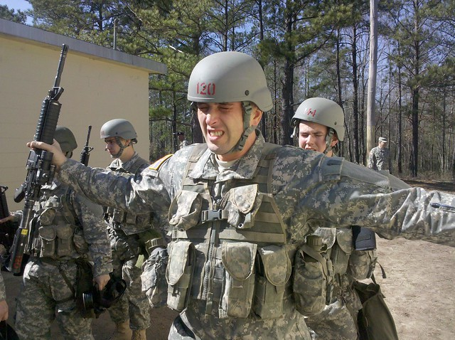 Recruits Fort Benning New